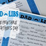 Dad Libs ~ A Free Printable to Celebrate Father's Day | {Five Heart Home}