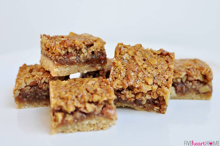 If you're a fan of pecan pie, these bars are a must-try. And if you ...