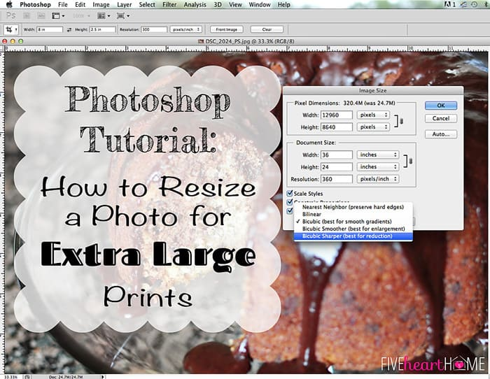 Photoshop-Tutorial-Increasing-Size-of-Photos-by-Five-Heart-Home_Title