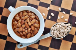 Slow Cooker Ranch Beans | {Five Heart Home}