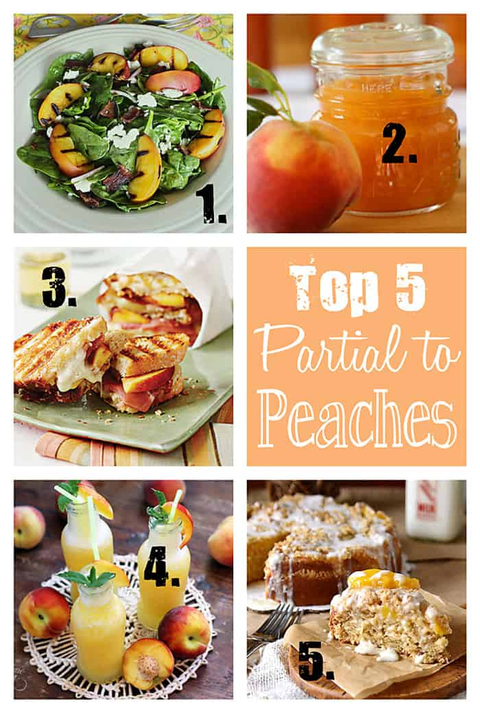 Top 5 Partial to Peaches Recipes | {Five Heart Home}