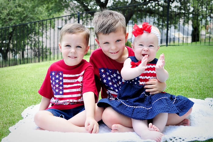 Happy Fourth of July!  |  {Five Heart Home}
