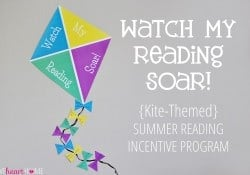 {Watch My Reading Soar!} Summer Reading Incentive Program ~ Free Printables