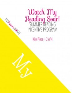 """Watch My Reading Soar!"" Kite-Themed Summer Reading Incentive Program ~ Free Printables! 