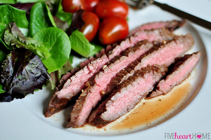 Grilled Flank Steak | {Five
