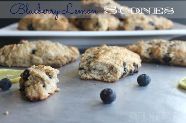 Blueberry-Lemon-Scones