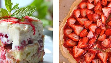 Features & Fun Friday #6 ~ Top 5 Scrumptious Strawberry Treats, Featured Blog: Tastes of Lizzy T, and Back to School
