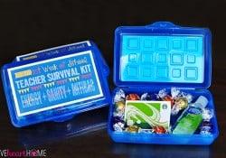 Back to School Teacher Survival Kit Gift ~ FREE PRINTABLE!