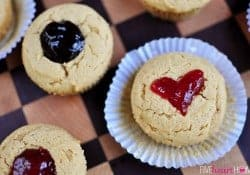 Peanut Butter & Jelly Muffins ~ A Perfect After School Snack for the First Day (or Any Day!)