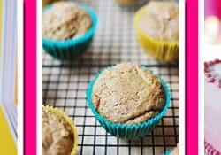 {Dairy-free, Egg-free} Spiced Applesauce Muffins {OR} First Birthday Applesauce Cake