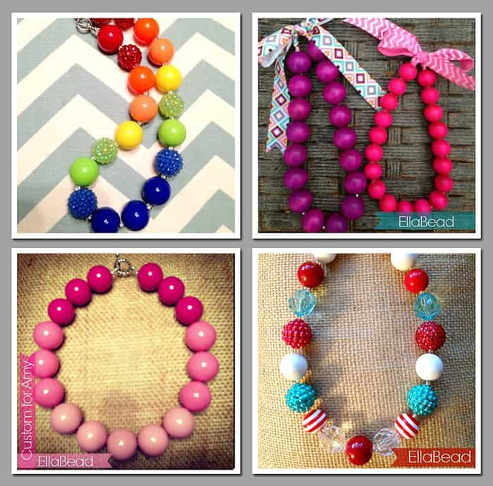 EllaBead Giveaway ~ Custom Necklaces for Toddlers, Little Girls, & Adults | {Five Heart Home}