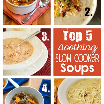 Features & Fun Friday #7 ~ Top 5 Soothing Slow Cooker Soups and A GIVEAWAY!!!