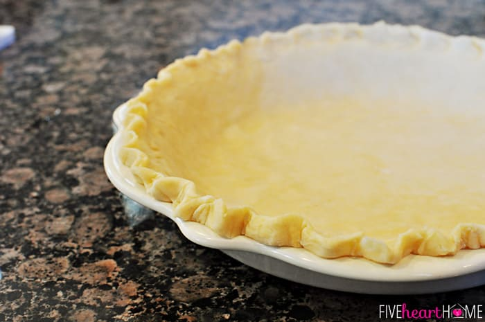 Fool-Proof Flaky Butter Pie Crust | {Five Heart Home}