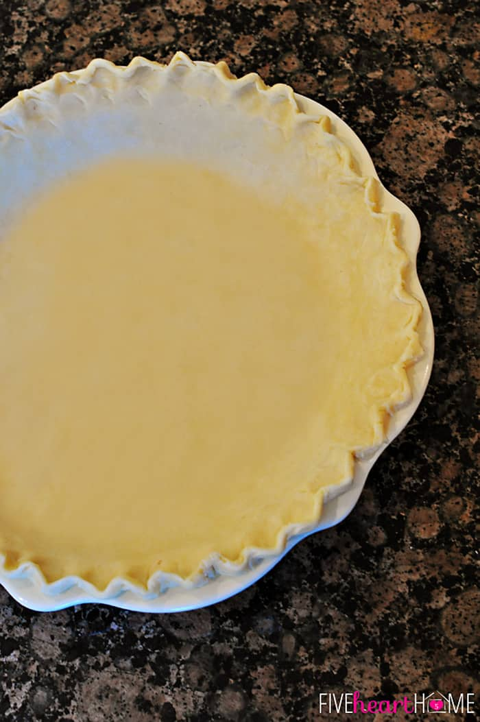 Now all you have to do is fill and bake your pie according to whatever ...