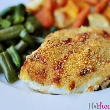 Parmesan Panko Crusted Chicken