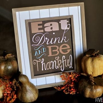 Thanksgiving Quote ~ Free Printable!