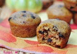 The BEST Chocolate Chip Pumpkin Bread (or Muffins)