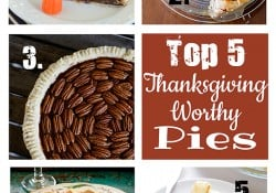 Features & Fun Friday #8 ~ Top 5 Thanksgiving-Worthy Pies, Exciting News, & A GIVEAWAY!
