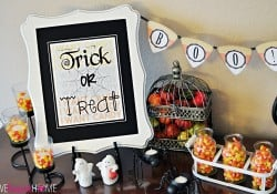 Trick or Treat ~ Free Halloween Printable