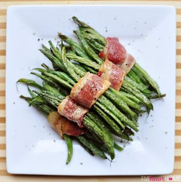 Bacon Green Bean Bundles with Brown Sugar Glaze