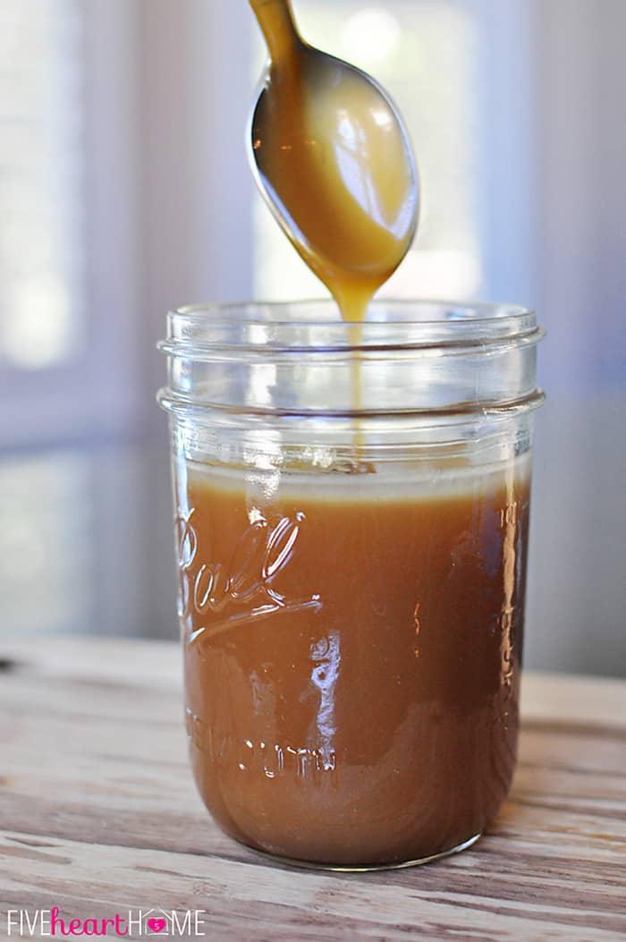 {5-Minute, 5-Ingredient} Homemade Caramel Sauce