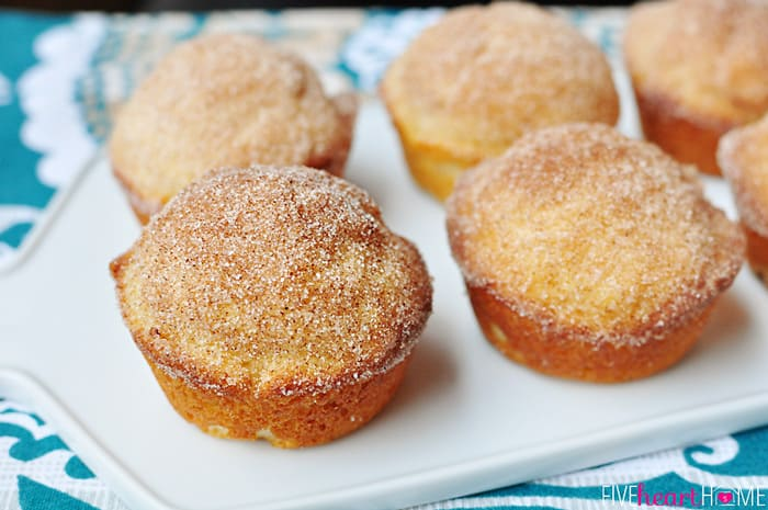 French Breakfast Puffs ~ sweet, tender muffins dipped in butter and ...