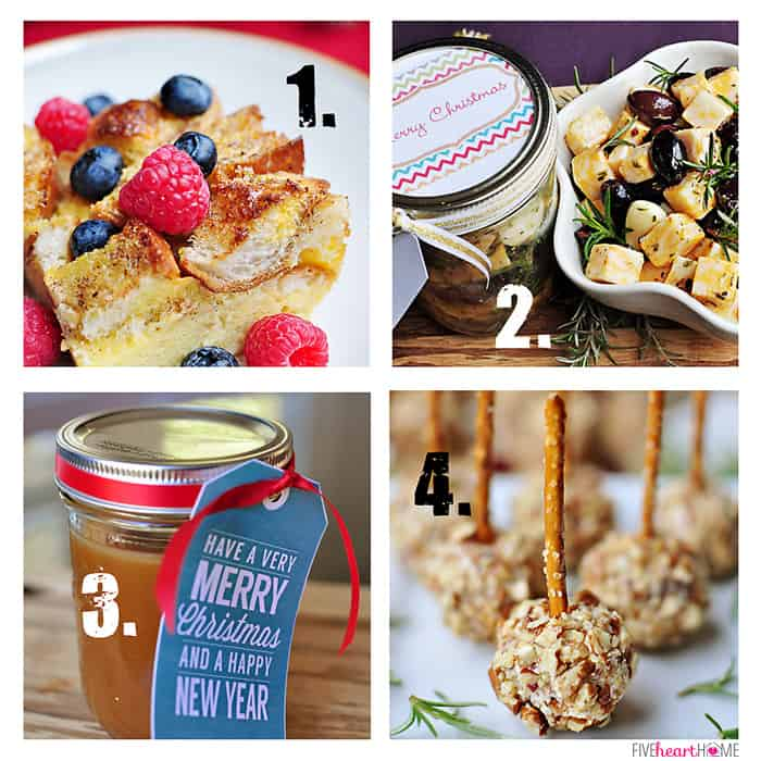 Holiday Recipes from Five Heart Home