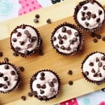 Cherry Cheesecake Chocolate Cups by Five Heart Home for Love Grows Wild