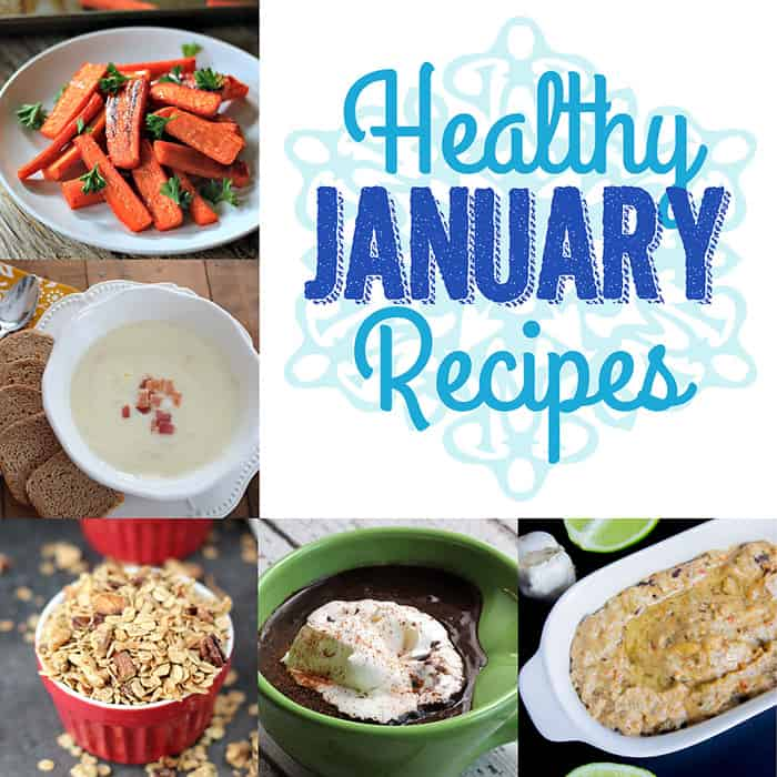 Moonlight & Mason Jars #38 Features: Healthy January Recipes