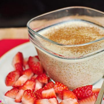 Quinoa Pudding {with Coconut Milk & Maple Syrup}