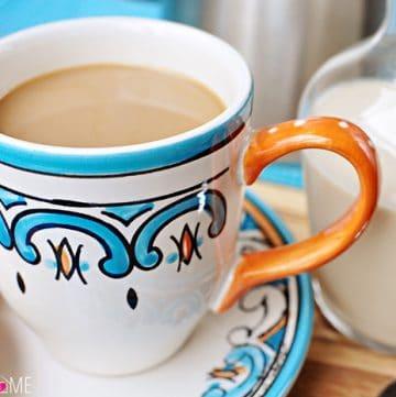 All-Natural and Homemade: Vanilla Coffee Creamer