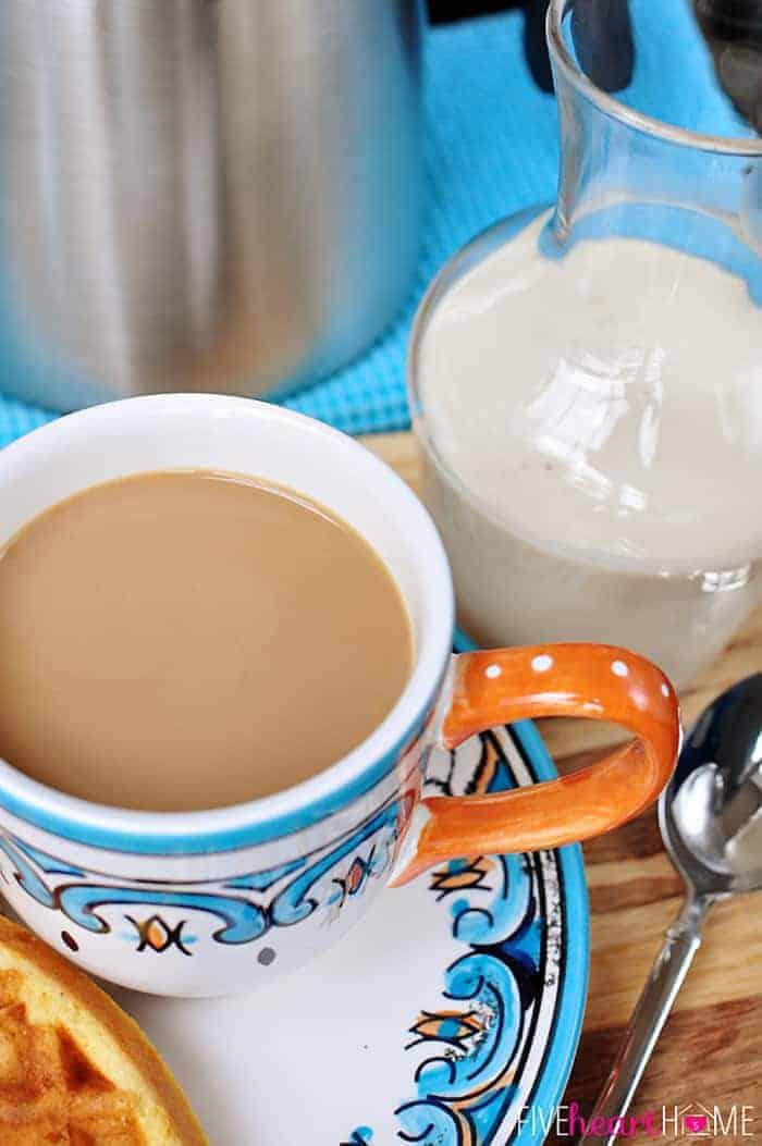 All Natural Princess Play Makeup Kit: All-Natural And Homemade: Vanilla Coffee Creamer