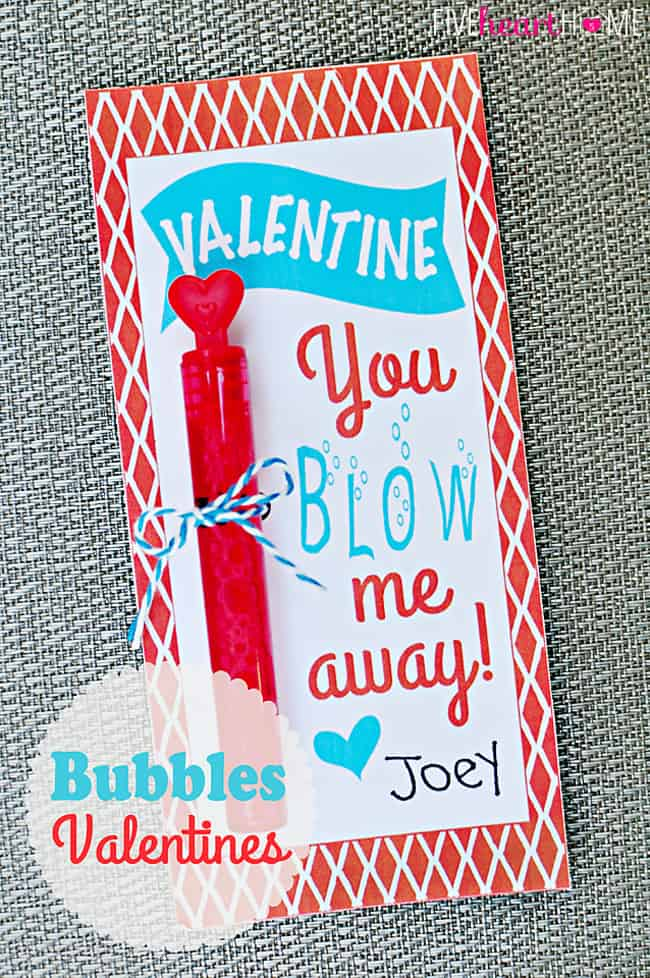 photograph relating to Valentines Free Printable named Bubbles Valentines Free of charge Printable ~ Valentine, By yourself Blow Me