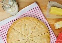 Classic Scottish Shortbread | FiveHeartHome.com for LoveGrowsWild.com