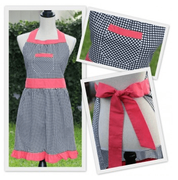 Harper Apron from Scarlet Threads