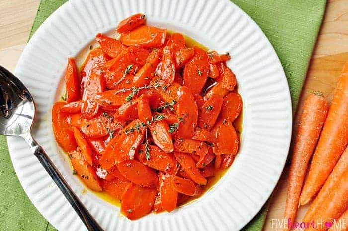 Honey Glazed Carrots With Thyme And Lemon A Perfect Spring Side Dish