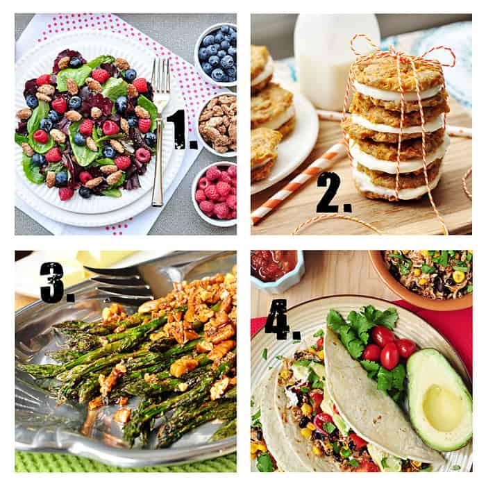 Spring Recipes from FiveHeartHome.com