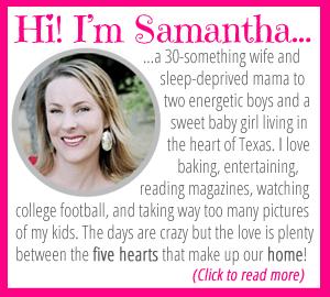 Samantha at FiveHeartHome.com