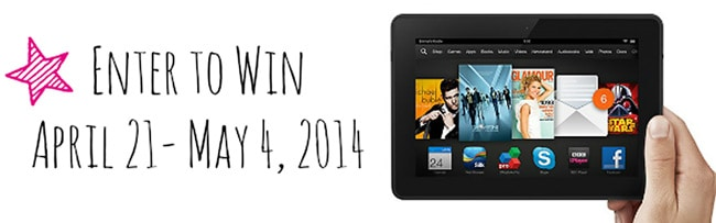 Kindle Fire Giveaway | FiveHeartHome.com