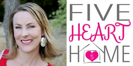 Samantha from FiveHeartHome.com