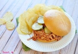 Slow Cooker Chicken Sloppy Joes