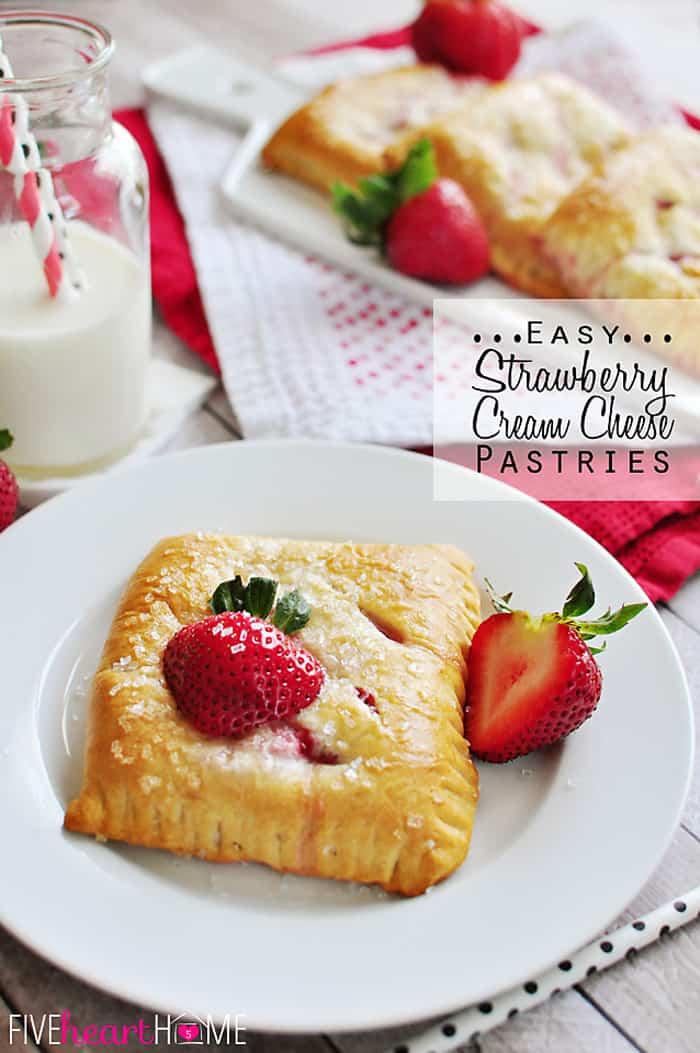 Strawberry Breakfast Crescents Recipes — Dishmaps