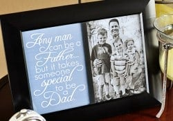 Father's Day Free Printable ~ Dad Quote