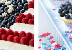 Features & Fun Friday #15 ~ Top 5 Flag Desserts + Fourth of July Recipes