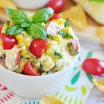 Fresh Summer Corn Dip | Five Heart Home for Uncommon Designs