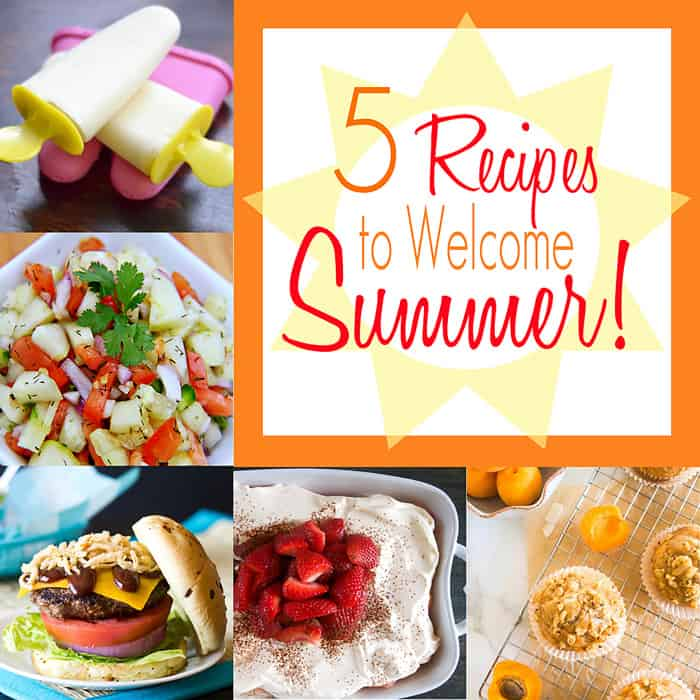 5 Recipes to Welcome Summer | Moonlight & Mason Jars Link Party