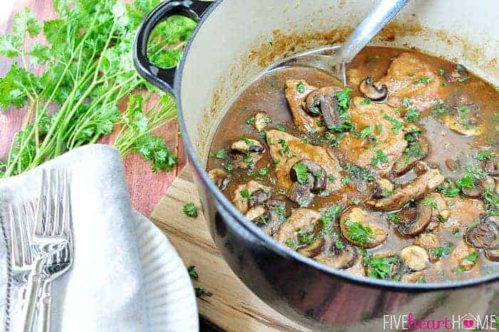 Pork loin with mushroom sauce recipes