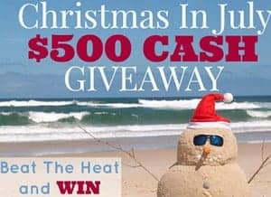 Chirtmas in July ~ $500 CASH GIVEAWAY!!! | FiveHeartHome.com