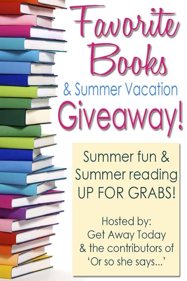 Favorite Books & Summer Vacation Giveaway | FiveHeartHome.com