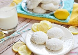 Lemon Cooler Cookies | FiveHeartHome.com for UncommonDesignsOnline.com